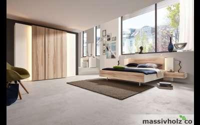 massivholz und co schlafzimmer. Black Bedroom Furniture Sets. Home Design Ideas